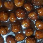 Slow Cooker Grape Jelly BBQ Meatballs