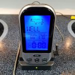 Wireless Remote Digital Meat Thermometer