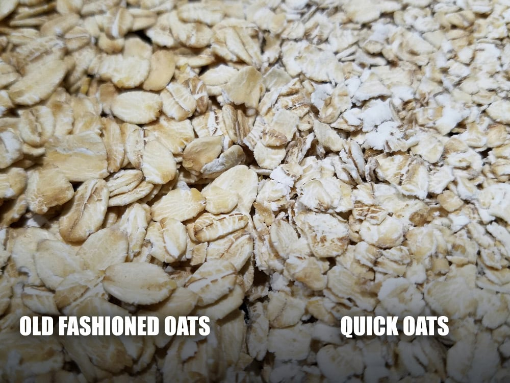Old Fashioned Oats vs Quick Oats | Comparison of Oats ...