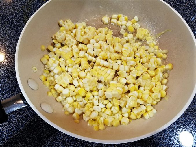Butter Fried Sweet Corn