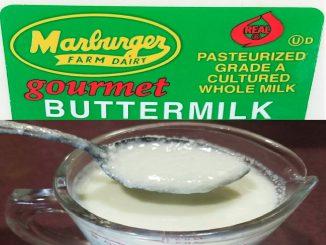 Buttermilk vs Sour Milk