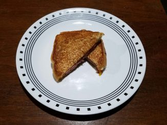Honey Mustard and Honey Ham Grilled Cheese Sandwich