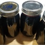 Jars of Black Raspberry Jelly